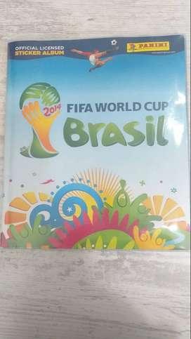 Álbum oficial mundial Brasil 2014 Panni original