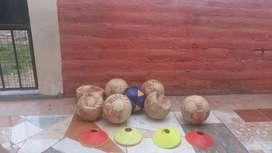 Venta de balones y platos para futbol