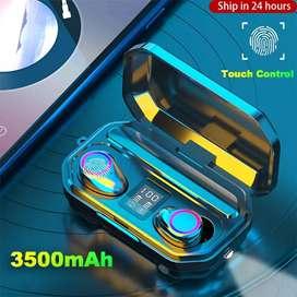Audífonos Inalámbricos de Bluetooth 5.0 + 3500mah Tactil Con Luz Led