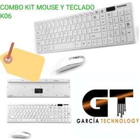 COMBO TECLADO Y MOUSE  K06