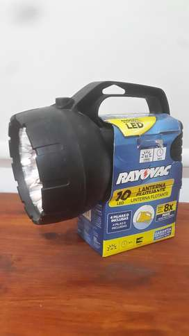 Linterna Rayovac 10 Led Nueva