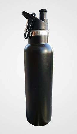 Botella termica de metal. Premium