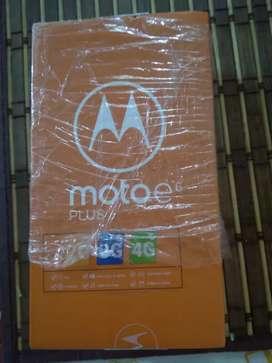 Motorola E 6 Plus Nuevo sin destapar