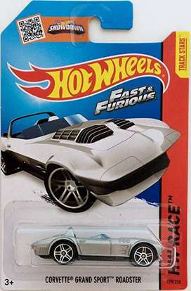 Hot Wheels Corvette Grand Sport Roadster / Rapidos y Furiosos
