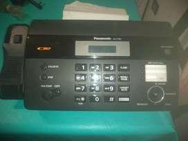Fax y teléfono
