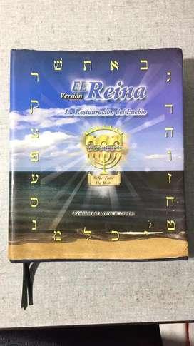 Biblia Restaurada Español Versión El Reina