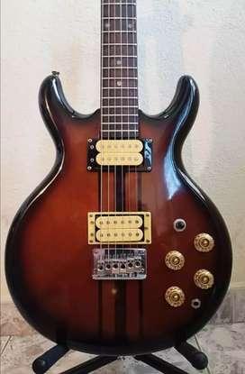 Guitarra eléctrica cort 1970-80 en excelente estado $650.000 mil todo original