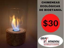 chimenea bio etanol ecologica