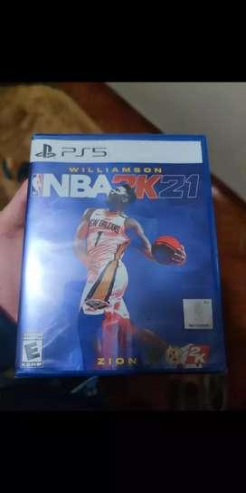 Juego NBA 2k21 play 5