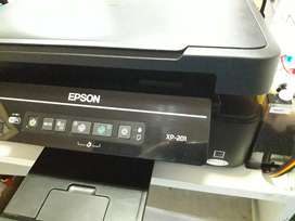 Impresora Epson xp201 ( sistema continuo sublimacion)