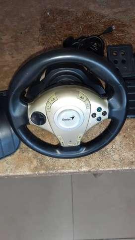 Volante Genius Twin Wheel F1/ Pedal