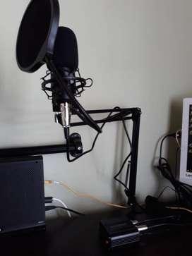 Kit Micrófono Condensador UHURU