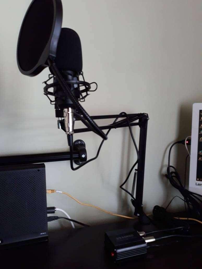 Kit Micrófono Condensador UHURU 0