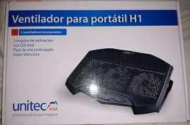 Ventilador para portatil marca Unitec