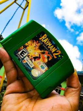 Vídeo juego Rayman 2