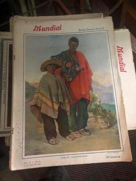 Revistas antiguas Mundial de 1921 adelante Conservadas