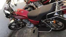 Moto Shineray Roja