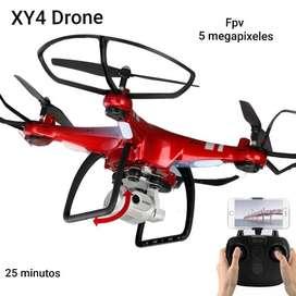 Drone Xy4s Wifi Camara Hd 5 Mpx 1080p 25 Min 150m Sensores remoto RC