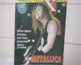 Revista Generacion X especial Metallica 1993