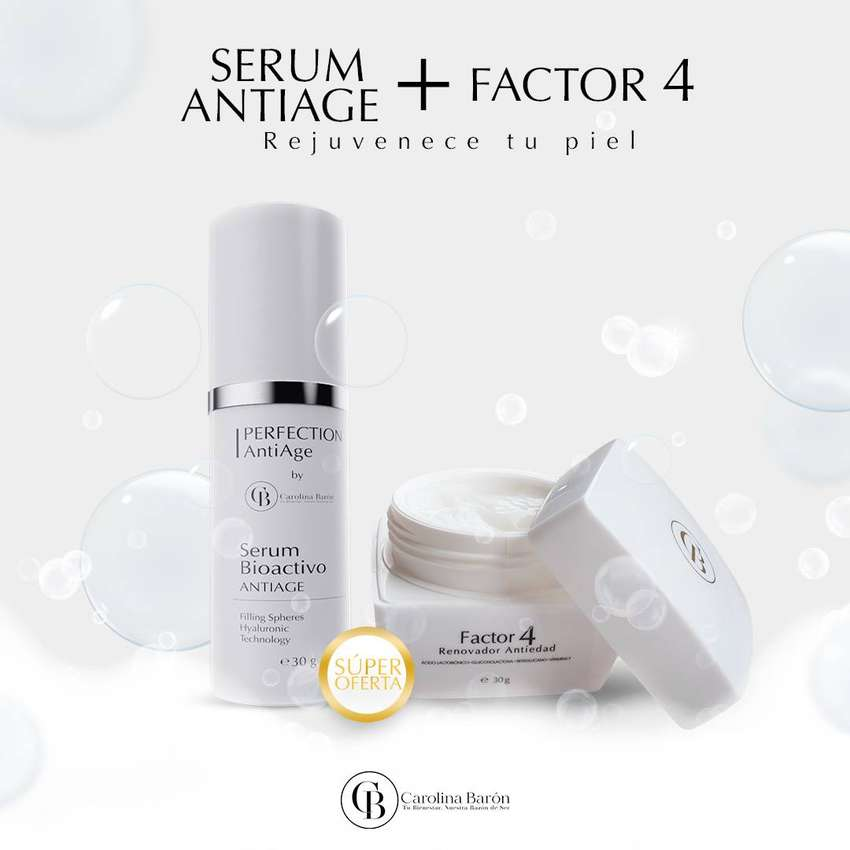SERUM ANTI AGE + FACTOR 4 0