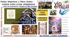 Curso Oleos Santos + Pastas Alquimicas Original Extendido x 17