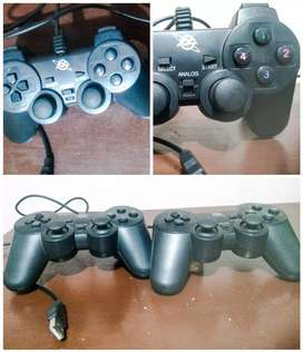 Controles USB tipo Playstation