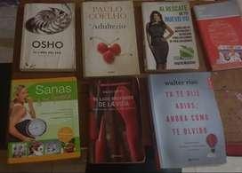 Libros de algunos escritores