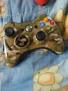 Control Original Xbox 360 edición Especial funcionando perfectamente
