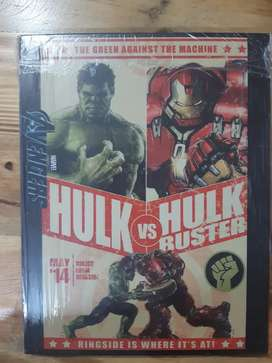 Cuadros de hulk, hulk buster, marvel avengers de 20cm x 26cm cada uno