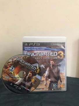 Uncharted 3 Drake's Deception PS3 (original) usado