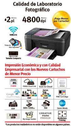 Impresora multifuncional cannon E481
