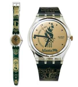 Reloj Swatch GZ136 Atlanta 1996 de Colección