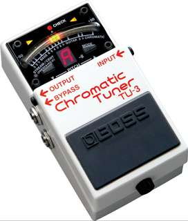 Pedal Boss TU-3 Music Box Colombia Guitarra Electrica Afinador