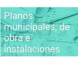 PLANOS MUNICIPALES / ARQUITECTURA