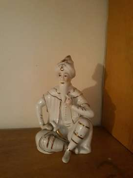 Porcelana Figura Hindu