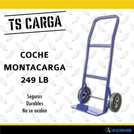 Coche Montacarga Azul 249 Lb