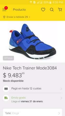 Zapatillas nike tech trainer originales