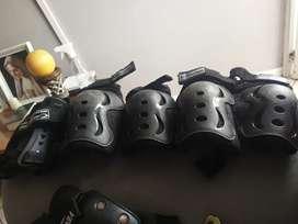 Protecciones para patinaje
