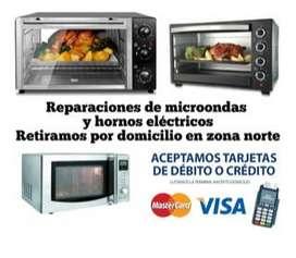 SERVICE MICROONDAS Y ELECTRODOMÉSTICOS