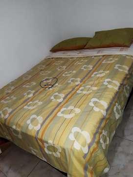 Comedor 6 puestos,lavadora wyrpoll de 28 libras, teatro en casa LG , base cama + colchón