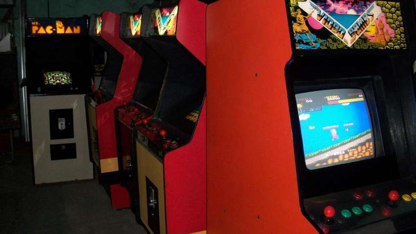 pac man arcade