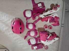 Vendo patines adjustables