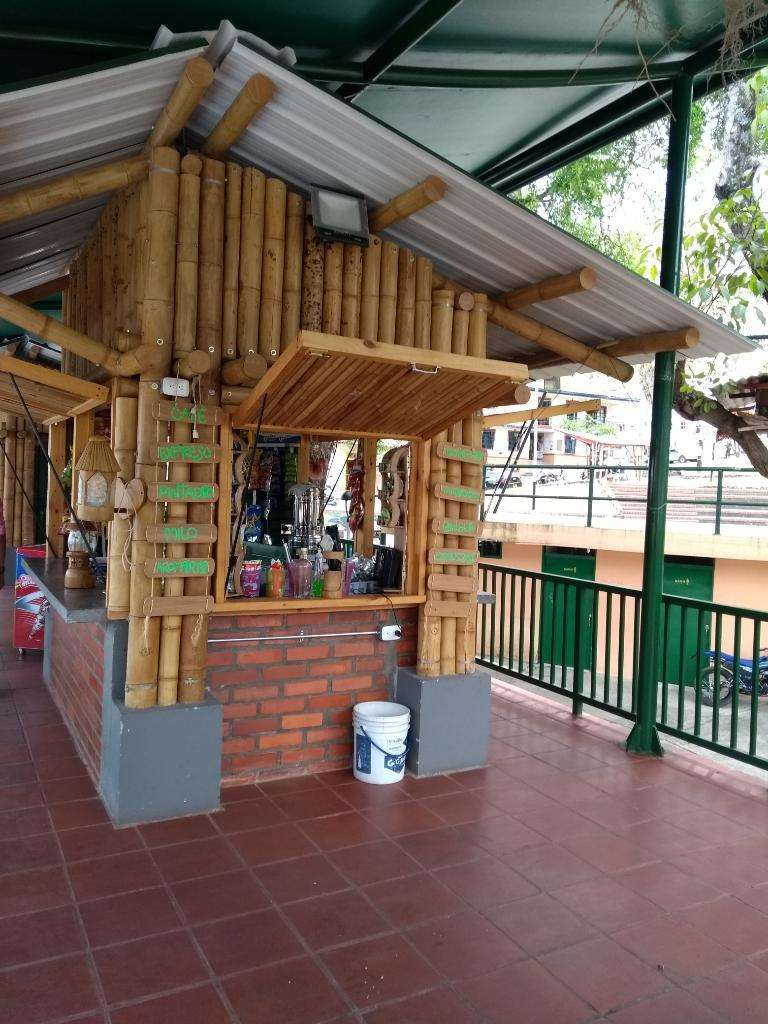 Kioskos de Guadua