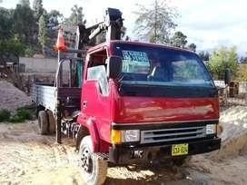 Vendo camión grúa mitsubishi fuso