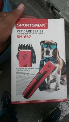 Máquina corta pelo mascotas