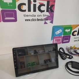 Radio Android entrada 1 din Pantalla 9 pulgadas GPS WiFi YouTube Maps Play Store Google Bluetooth USB Mirrorlink
