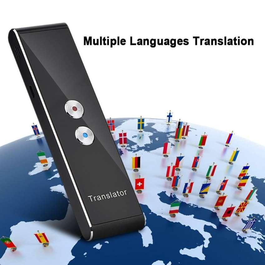 Traductor Inteligente Portátil Mas De 30 Idiomas Tiempo Real 0
