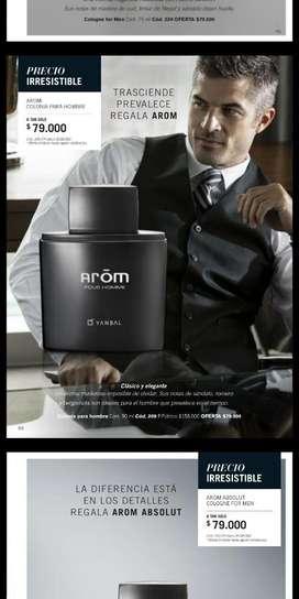 Arom Colonia Hombre