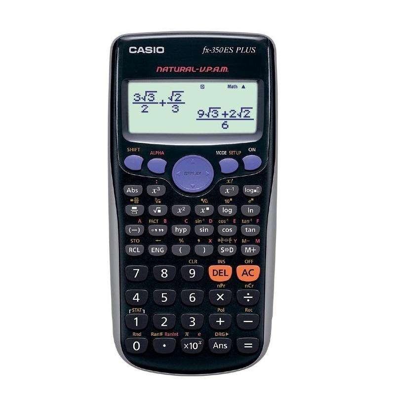 Calculadora científica CASIO fx350ES PLUS de 252 funciones NUEVA 0