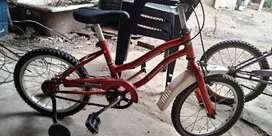 vendo bicicletas de niño las 3 x 5 mil